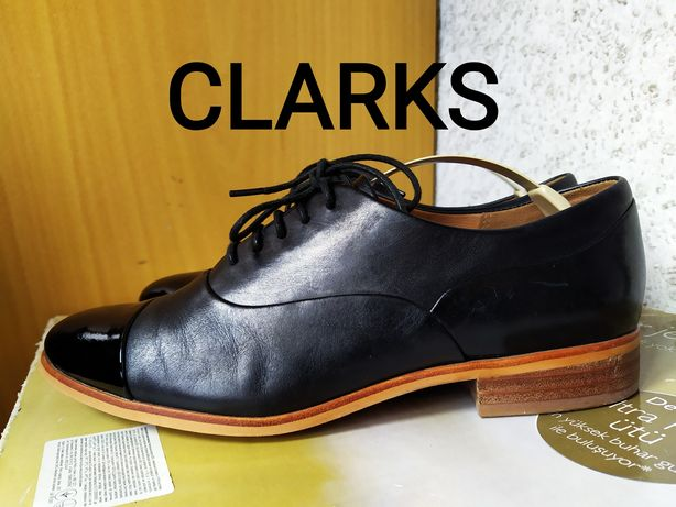 Демисезонные полуботинки туфли Clarks р.37-38 Meindl Lowa