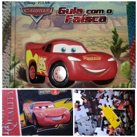 Livro de sons Faísca (Disney) + puzzle