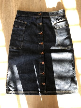 Nowa, jeansowa spódnica Superdry rozm S