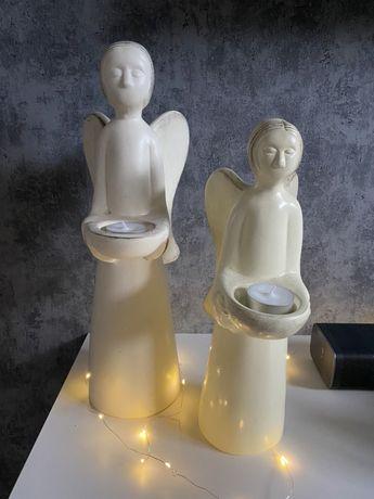 Anioły figurki wysokie