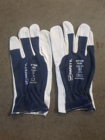 Rękawice skórzane HF Safety Fitter rozmiar 10/XL