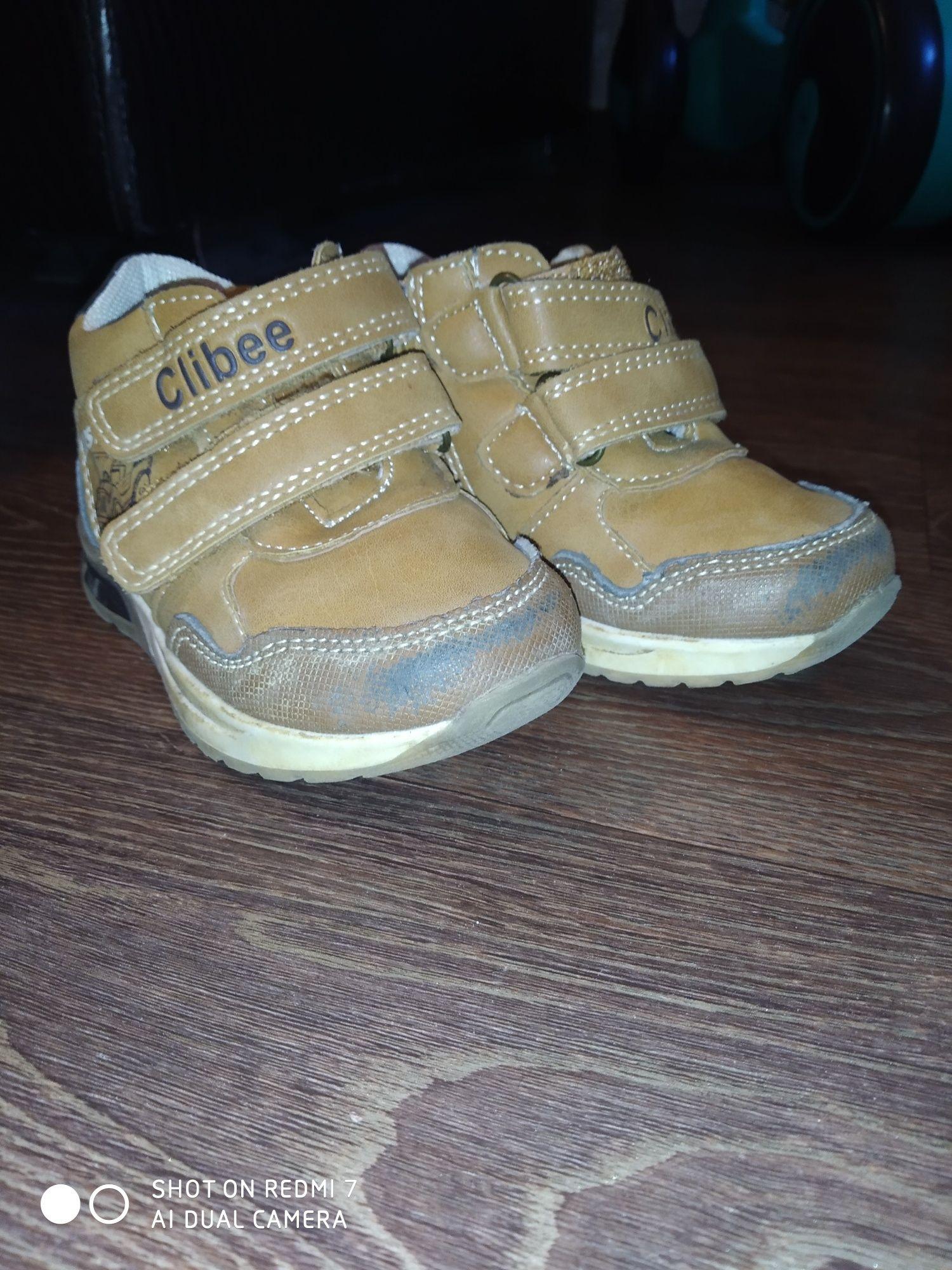 Детские ботинки 21р