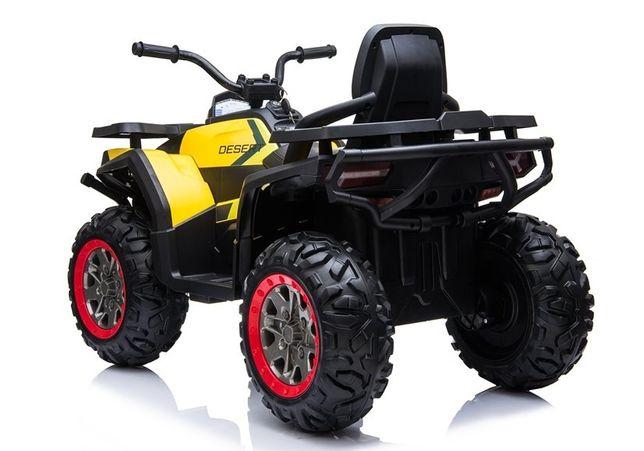 Quad na Akumulator XMX607 Żółty