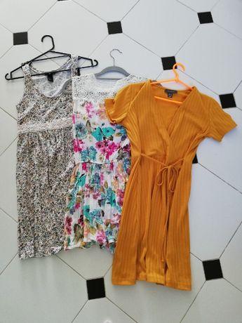 Zestaw paka ubrań sukienki kombinezon S