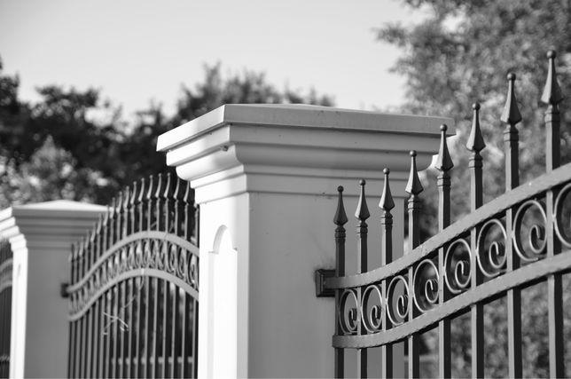 SŁUPY ogrodzeniowe dworkowe ogrodzenie betonowe prefabrykowane ALCYONI