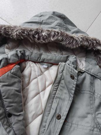 Chłopięca kurtka zimowa CoolClub rozmiar 80