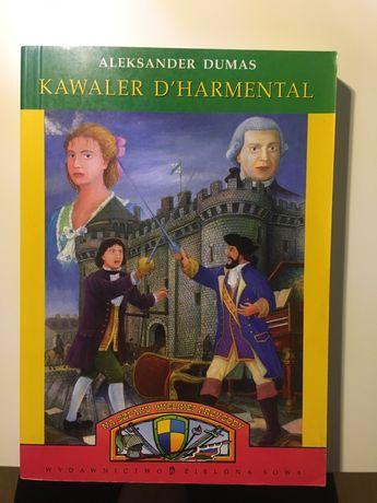 """Aleksander Dumas """"Kawaler D'harmental"""""""