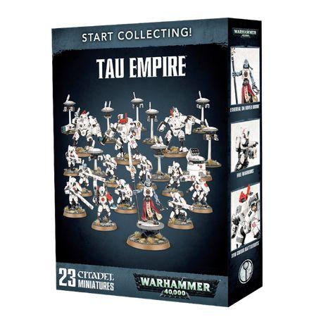 Zestaw startowy Start Collecting T'au Empire Warhammer 40 000