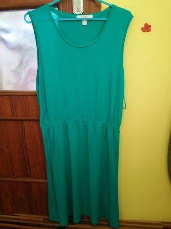 Piękna morska zieleń sukienka Esprit raz ubrana rL
