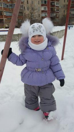 Комбинезон, пуховик на зиму
