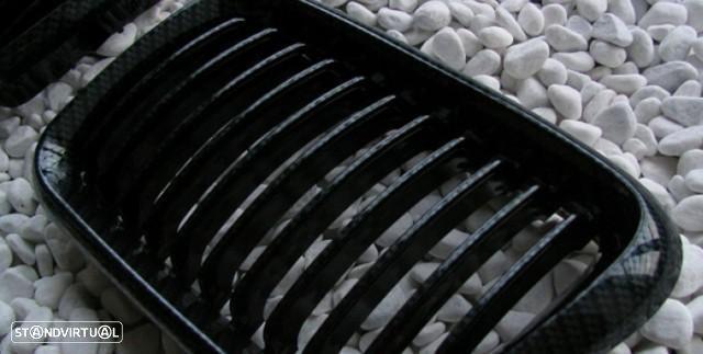 Grelhas Frontais Bmw Serie 3 - E36  - 2ª Fase - Pintura Carbono