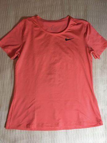 Tshirt Nike laranja Dri-Fit (M)