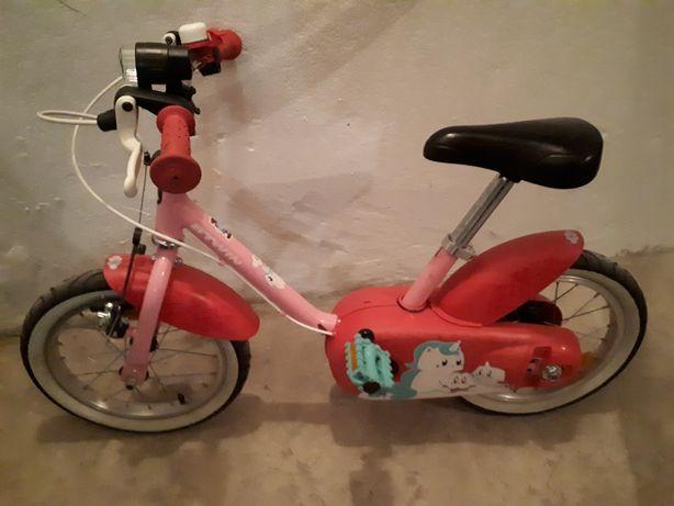 Rowerek dziecięcy do nauki jazdy z odkrecantmi kołkami