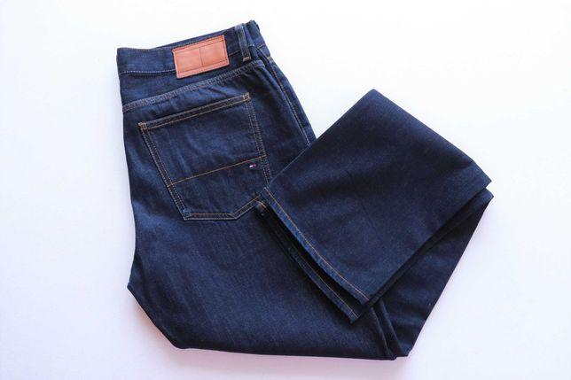 Męskie spodnie jeansy Tommy Hilfiger W34 L34 MERCER jak nowe