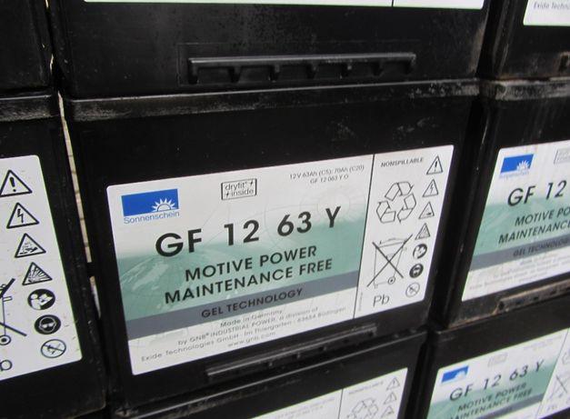 Akumulator gel Bateria GF 12 63Y żelowa 70Ah C20