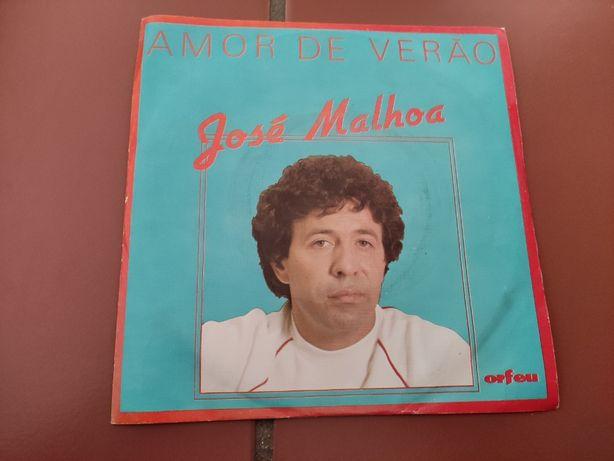 Disco Vinil José Malhoa- Amor de Verão
