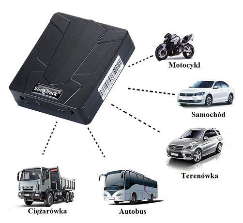 Lokalizator GPS MAGNES 60 dni samochód Śledzenie Podsłuch SERWER