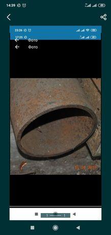 Труба 220мм 10мм толщина , 1.50метра цена 10 гр кг.