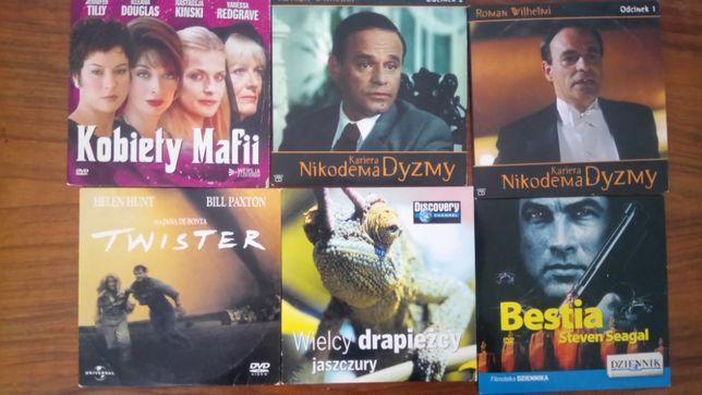 Filmy różne ponad 100 płyt