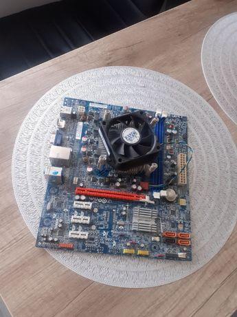Płyta Główna Socket 1155 z procesorem oraz chłodzeniem