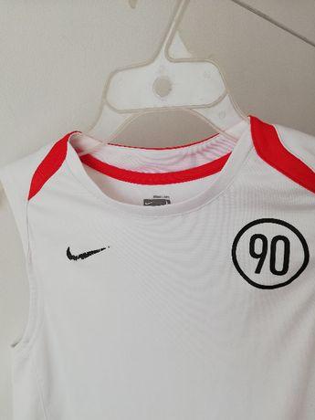 koszulka sportowa Nike bezrękawnik 152-158 cm
