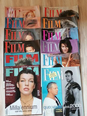 Magazyn-Czasopismo FILM Rocznik 2000, Komplet 12 numerów, stan idealny