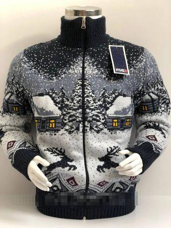 Теплая,зимняя кофта,для мальчика. Новогодний,скандинавский свитер