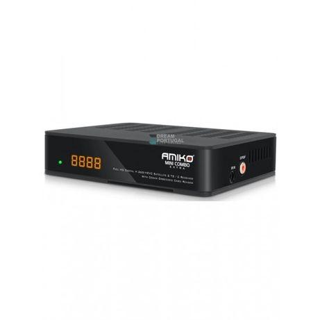 Box tv Amiko mini combo extra cabo/satelite/iptv