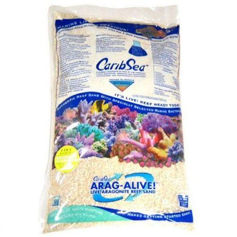 Żywy piasek CaribSea Arag-Alive Bahamas Oolite 9kg akwarium morskie