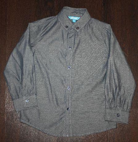 Рубашка школьная форма Rebel Primark 5-6 лет