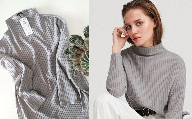 Bluza sweter szary GOLF czerwony i inne  L/XL-XL-XL/XXL