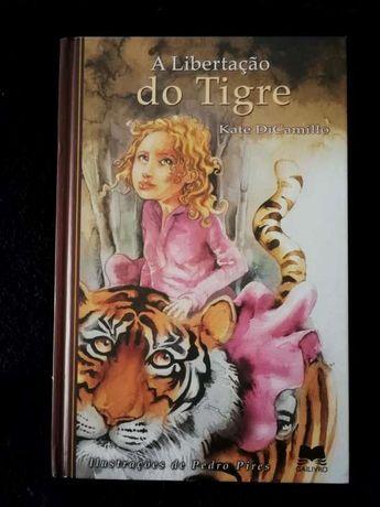 """Livro juvenil """"A libertação do tigre"""""""
