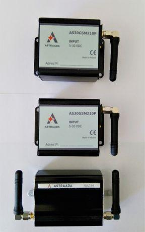 Routery przemysłowe Astraada (zestaw)
