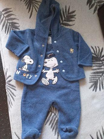 Komplet niemowlęcy- bluza i śpiochy rozmiar 62 cm