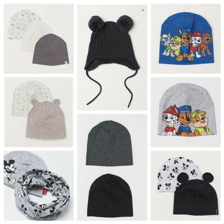 Разные шапки 0-14+ next h&m Zara некст хм шапка зима осень деми набор