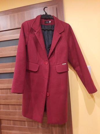 Płaszcz bordo rozmiar M