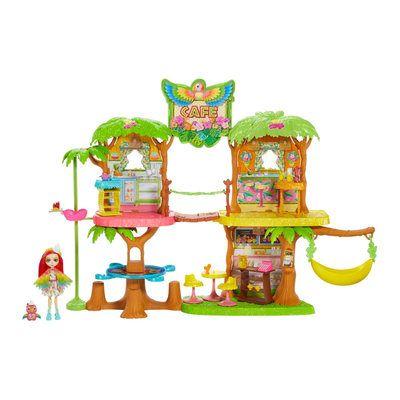 Enchantimals Кафе Джунгли попугая Пикки,кафе папужки Піккі GNC57,GFN59