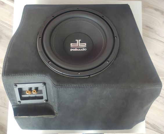 Subwoofer samochodowy 25cm 540W Polk Audio DB1040DVC