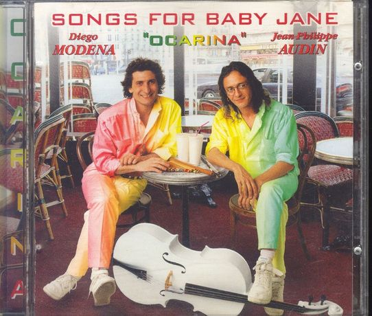 CD Diego Modena + J.-P.Audin - Songs For Baby Jane