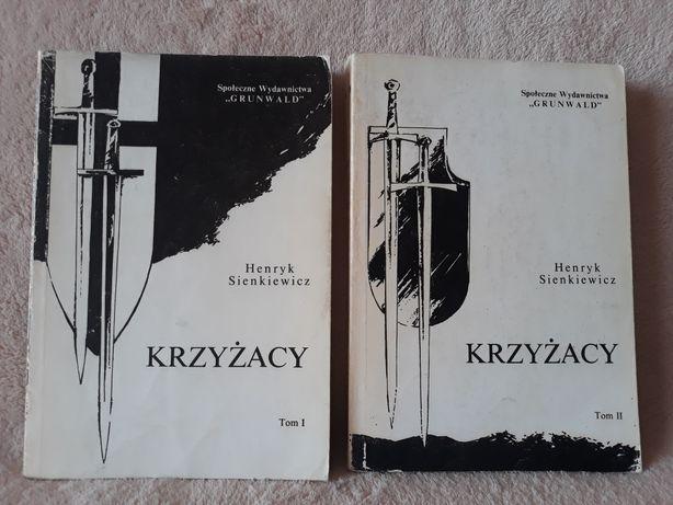 """""""Krzyżacy"""" - H. Sienkiewicz - w dwóch tomach"""