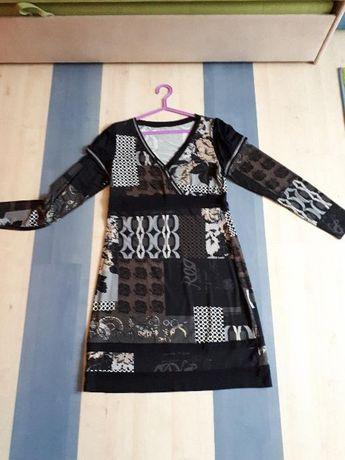 Wyprzedaż szafy - Sukienka - tunika Bon prix długi rękaw 40/42