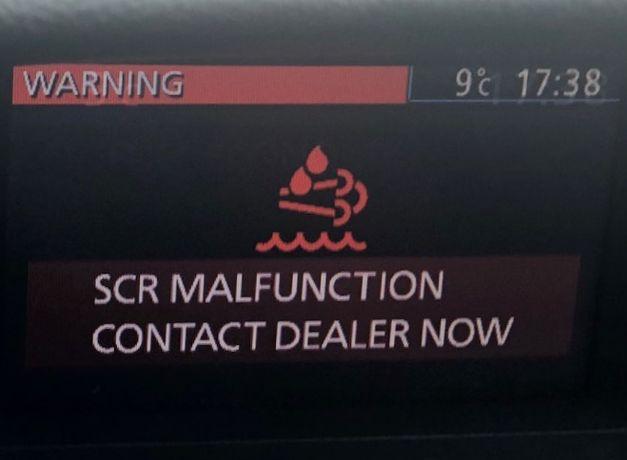 serwis naprawa systemu SCR AdBlue Mazda CX 7