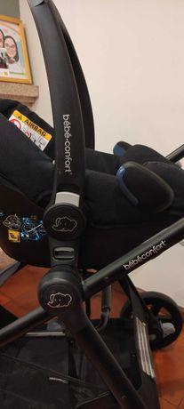 Carrinho de bebe bebe-confort Zelia + Ovo rock + sistema ISOFIX