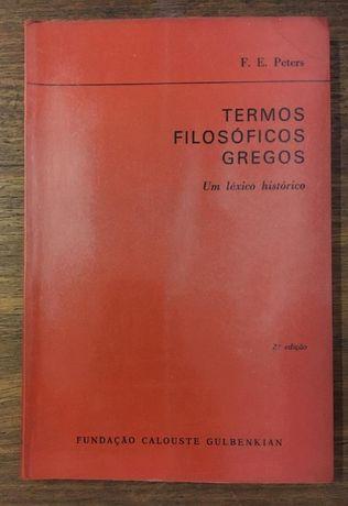 termos filosóficos gregos, f.e. peters, gulbenkian