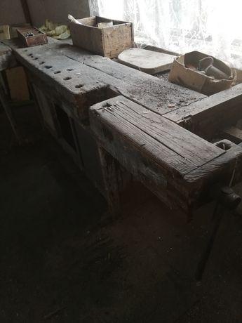 Stół stolarski - stary warsztat oryginalny