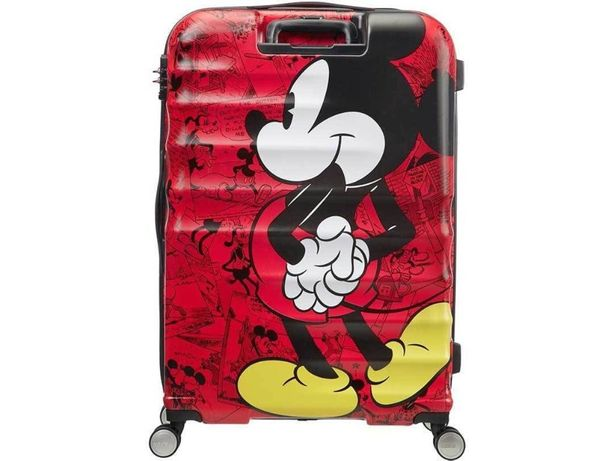Trolley / Mala Viagem AMERICAN TOURISTER Mickey Comics Red - NOVA