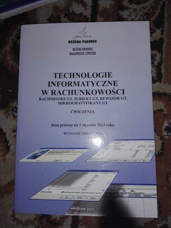 Książka Technologie informatyczne w rachunkowości 2013