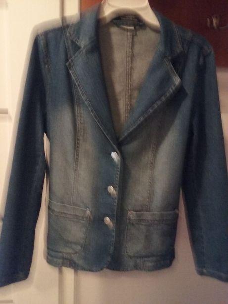 Żakiet jeansowy rozmiar 42