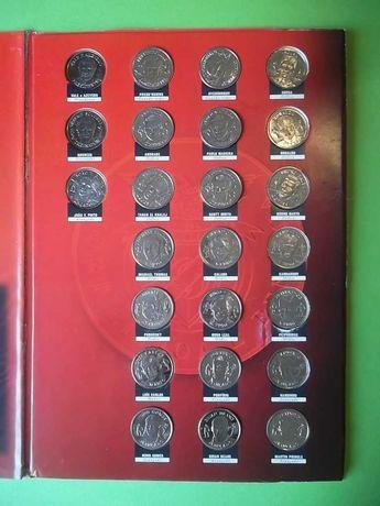 Medalhas do Benfica - colecção completa