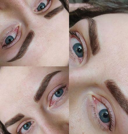 Перманентный макияж Татуаж Бровей